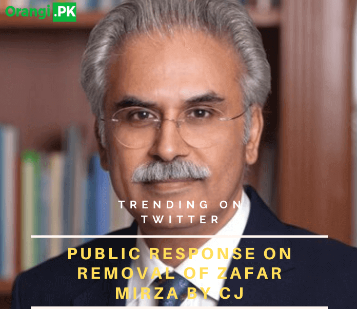 Public Response on Zafar mirza removal on order from CJ