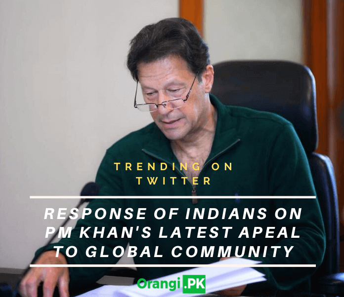 Response of Indians on PM Khan's Latest Appeal to Global Community